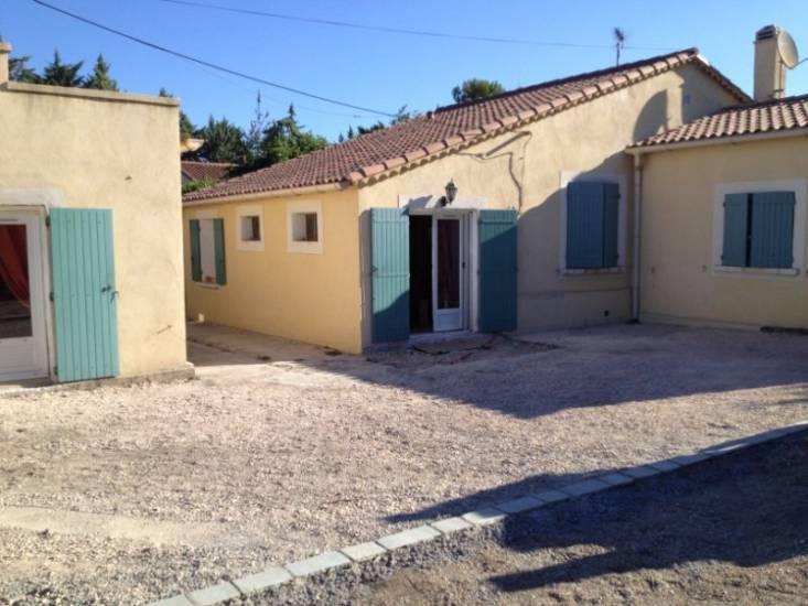 Am nagement d 39 un ext rieur de villa a meyreuil 13 service de goudronnag - Amenagement exterieur villa ...